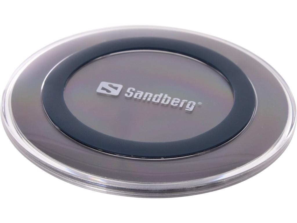 Sandberg Wireless Charger Pad 5W Must Hoonesisene