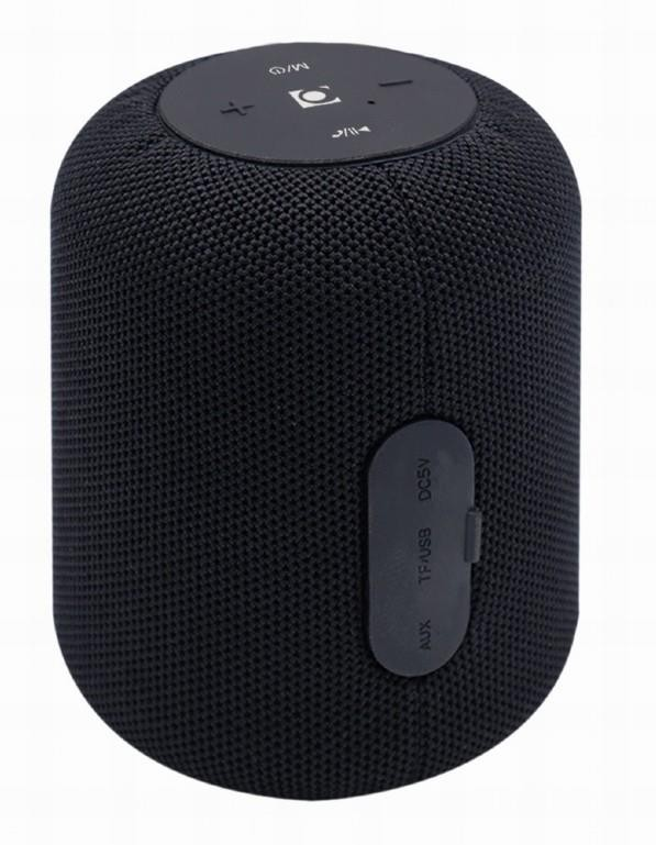 Portable Speaker|GEMBIRD|Portable/Wireless|1xMicroSD Card Slot|Bluetooth|Black|SPK-BT-15-BK