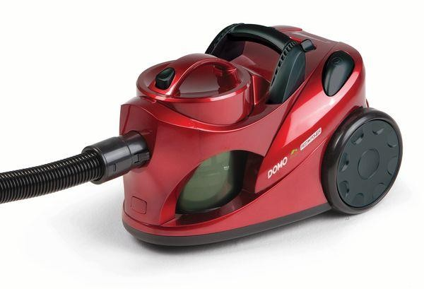 Vacuum Cleaner|DOMO|DO7279S|Bagless|Capacity 2 l|Red|Weight 5.8 kg|DO7279S