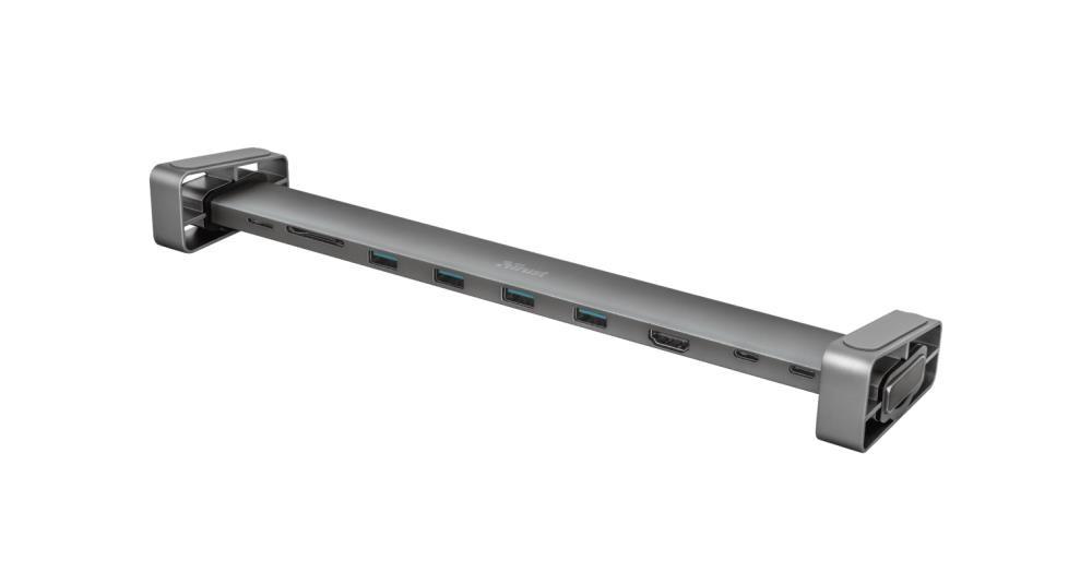 Trust Dalyx Juhtmega ühendatud USB 3.2 Gen 1 (3.1 Gen 1) Type-C Alumiinium