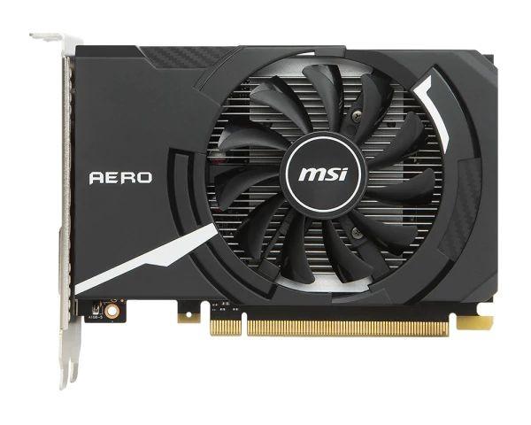 MSI GeForce GT 1030 AERO ITX 2G OC NVIDIA, 2 GB, GeForce GT 1030, GDDR5, PCI Express 3.0 x16 (uses x4), Processor frequency 1518 MHz, DVI-D ports quantity 1, HDMI ports quantity 1, Memory clock speed 6008 MHz