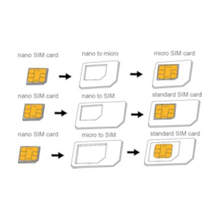Logilink AA0047 Dual Sim Card Adapter, Logilink
