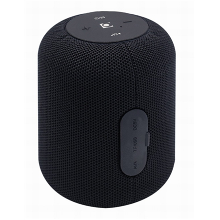Gembird SPK-BT-15-BK Portable Bluetooth speaker, Wireless, 5 W, 1200 mAh, Black