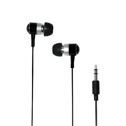 Logilink Earphone Stereo In-Ear HS0015A Black, 3.5 mm jack,
