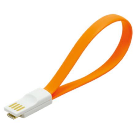 Logilink Magnet USB 2.0 to Micro USB cable CU0088 Orange