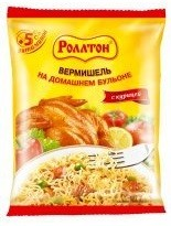 Kiirnuudlid ROLLTON, kanamaitselised, 60 g
