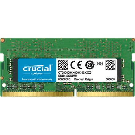Crucial 4 GB, DDR4, 2666 MHz, PC/server