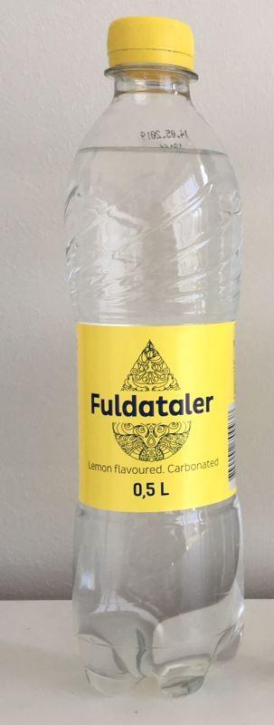 Lauavesi FULDATALER, karboniseeritud, sidruni, 0,5L, PET