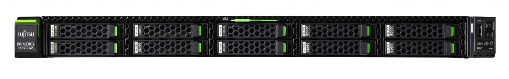 Fujitsu PRIMERGY RX2530 M5 server Intel® Xeon® Silver 2,1 GHz 16 GB DDR4-SDRAM Püstik (1U) 450 W