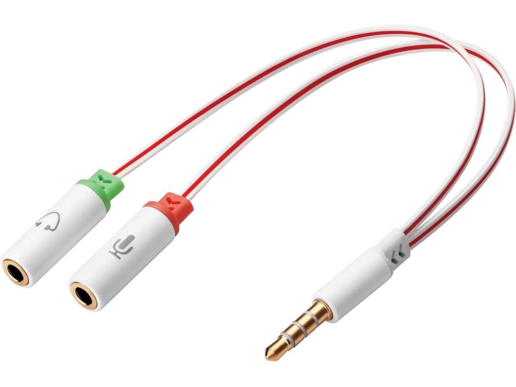SANDBERG Headset converter for Apple