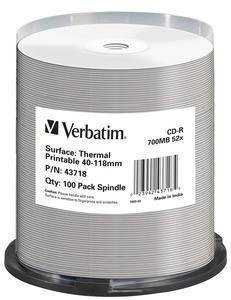 Verbatim 43718 tühi CD CD-R 700 MB 100 tk