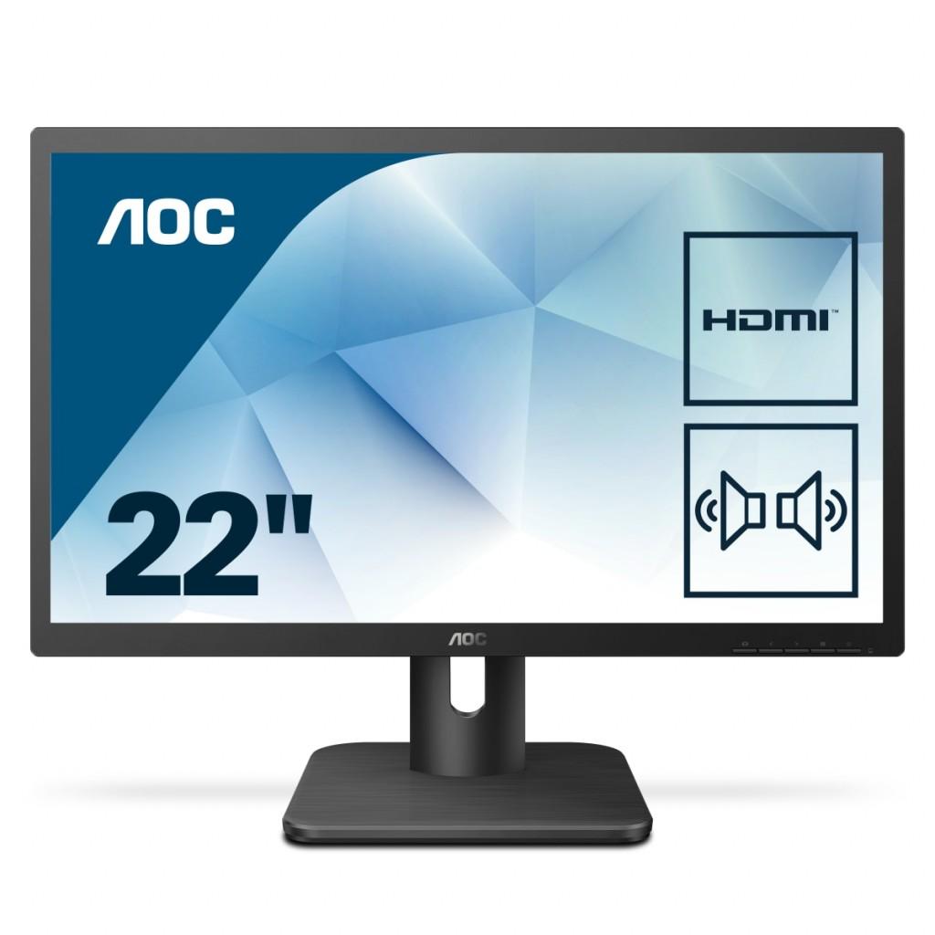 AOC 22E1D 21.5inch display