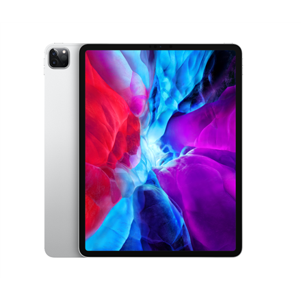 "Apple IPad Pro 2020 Wi-Fi+Cellular 12.9 "", Silver, Liquid Retina display, 2732 x 2048, A12Z Bionic chip with 64-bit architecture; Neural Engine; Embedded M12 coprocessor, 6 GB, 128 GB, Wi-Fi, Front camera, 7 MP, Rear camera, 12 MP, Bluetooth, 5.0, iPadOS"