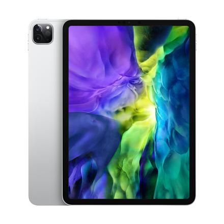 "Apple IPad Pro 2020 Wi-Fi+Cellular 11 "", Silver, Liquid Retina display, 2388 x 1668, A12Z Bionic chip with 64-bit architecture; Neural Engine; Embedded M12 coprocessor, 6 GB, 128 GB, 4G, Wi-Fi, Front camera, 7 MP, Rear camera, 12+10 MP, Bluetooth, 5.0, iPadOS"