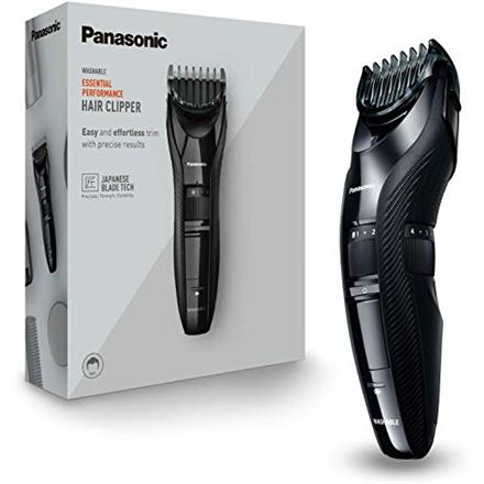 Panasonic Hair clipper ER-GC53 Corded/ Cordless, Wet & Dry, Number of length steps 19, Step precise 0.5 mm, Black