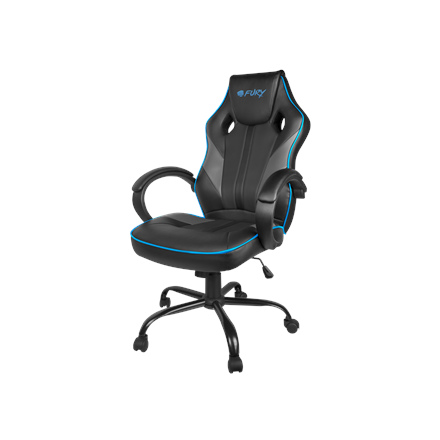Fury Gaming Chair, Avenger M, Black/Grey/Blue