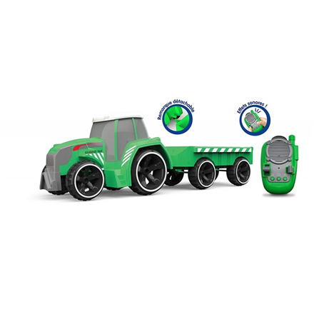SilverLit PIF VEHICLE: TRACTOR + TRAILER  (IR control)