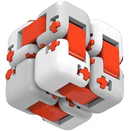 Xiaomi Mi Fidget cube Xiaomi Cube MI fidget White/Red, Plastic, ● An interesting toy to relieve stress ● Need a DIY, fun to kill time ● Simple appearance brings a different feeling ● Excellent workmanship, it can be rotated fluently and freely ● Smooth surface and round corner, feeling comfortable ● Small size, easy to carry ● Can be assembled with