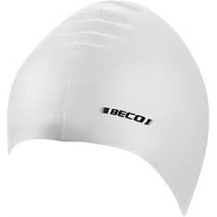 BECO Latex swimming cap 7344 1 white