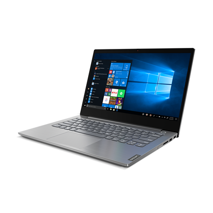 "Lenovo ThinkBook 14 IIL Mineral Grey, 14 "", IPS, Full HD, 1920 x 1080, Matt, Intel Core i5, i5-1035G4, 8 GB, SSD 256 GB, Intel Iris Plus, No Optical drive, Windows 10 Pro, 802.11ax, Bluetooth version 5.0, Keyboard language English, Keyboard backlit, Warranty 12 month(s)"