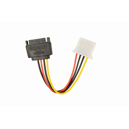 Gembird SATA (male) to Molex (female) power cable, 0.15 m