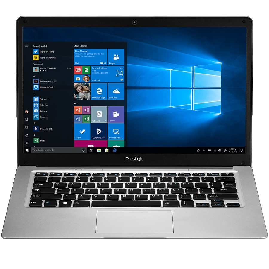 "Prestigio SmartBook 141 C3, 14.1"" (1366*768) TN, Windows 10 Home (English), up to 1.92GHz Quad Core Intel Atom Z8350, 2GB DDR, 64GB Flash, BT 4.0, WiFi, USB 3.0, USB 2.0, MicroSD card slot, mini HDMI port, 0.3MP cam, EN kbd, 8000mAh bat, color/Metal grey"