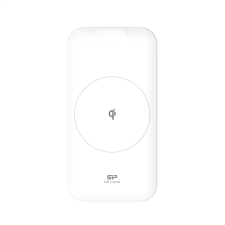 Silicon Power Wireless Phone Charger Io QI210 White