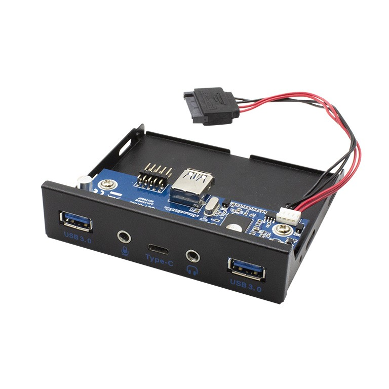 I-TEC USB-C/USB 3.0 InternalFP w Audio