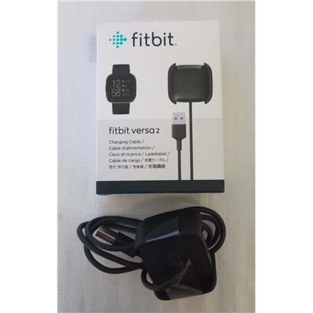 SALE OUT. Fitbit accessory for Versa 2 - Charging Cable Fitbit Accessory for Versa 2, Charging Cable, DAMAGED PACKAGING, FEW LIGHT SCRATCHES, Slim charging cable that easily packs into purses, backpacks and more, and plugs into any USB port
