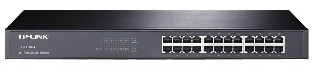 TP-LINK 24port Gigab. Switch 19in-Rack
