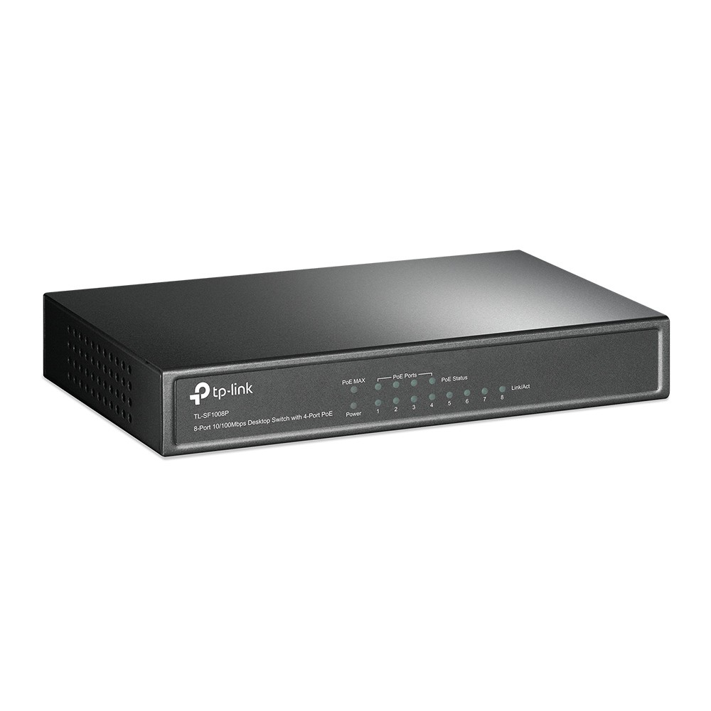 TP-LINK 8port PoE Switch 4 PoE Ports
