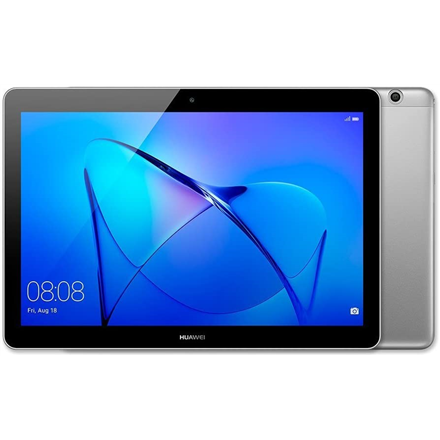 "Huawei MediaPad T3 9.6 "", Grey, IPS LCD, 1280 x 800, Qualcomm MSM8917, 2 GB, 16 GB, Front camera, 2 MP, Rear camera, 5 MP, Bluetooth, 4.0, Android, 8.0"