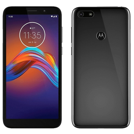 "Motorola Moto E6 play Black, 5.5 "", IPS LCD, 720 x 1440 pixels, Cortex-A53, Internal RAM 2 GB, 32 GB, microSD, Single SIM, Nano-SIM, 3G, 4G, Main camera 13 MP, Secondary camera 5 MP, Android, 9.0, 3000 mAh"