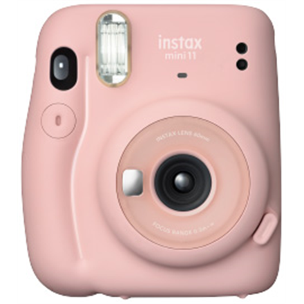 Fujifilm Instax Mini 11 Camera Focus 0.3 m - ∞, Blush Pink