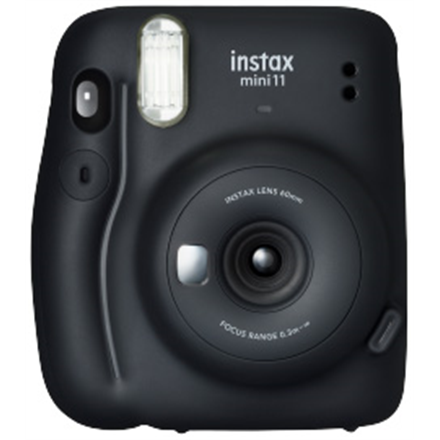 Fujifilm Instax Mini 11 Camera Focus 0.3 m - ∞, Charcoal Gray