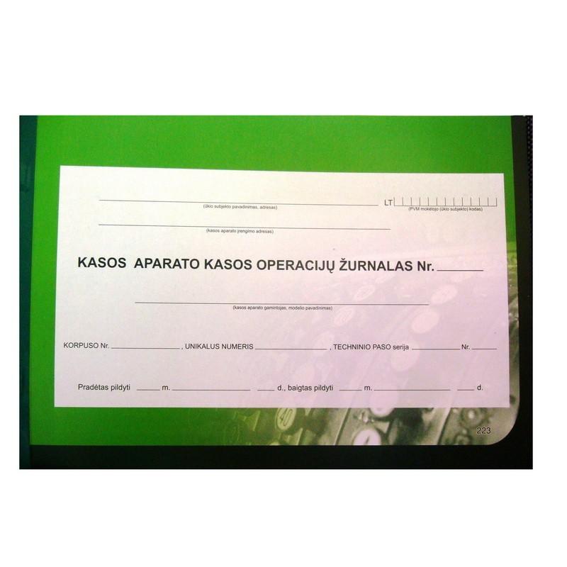 Register EKA A4, horizontal, LT keelne