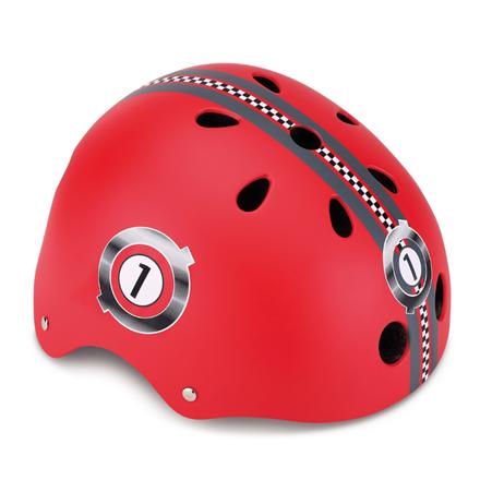 GLOBBER helmet Junior Racing XXS/XS (48-51 cm), Red