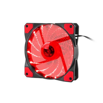 Genesis Case/PSU Fan Hydrion 120 Red