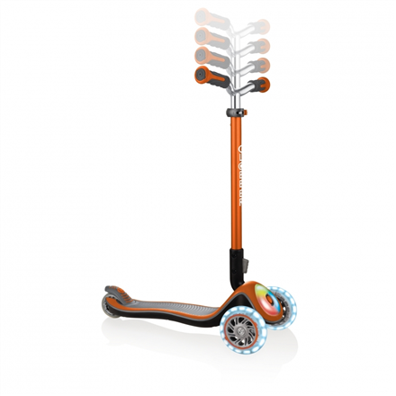 GLOBBER Scooter Elite Prime Flashing Orange 444-804