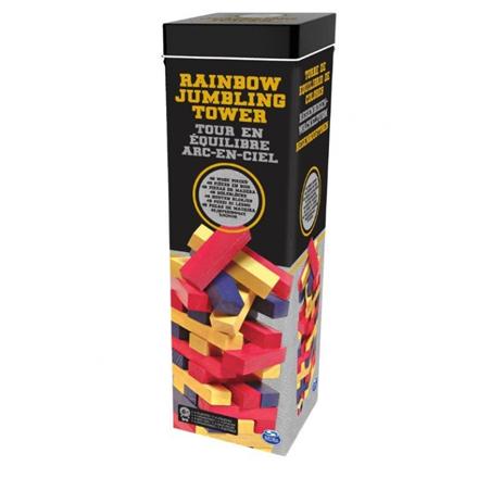 CARDINAL GAMES Rainbow Jumbling Tower, 6033150