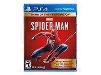 SONY PS4 GAME: Marvels Spider-Man GOTY