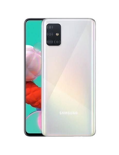 "Samsung Galaxy A51 SM-A515F 16,5 cm (6.5"") Kaksik-SIM 4G USB tüüp-C 4 GB 128 GB 4000 mAh Valge"