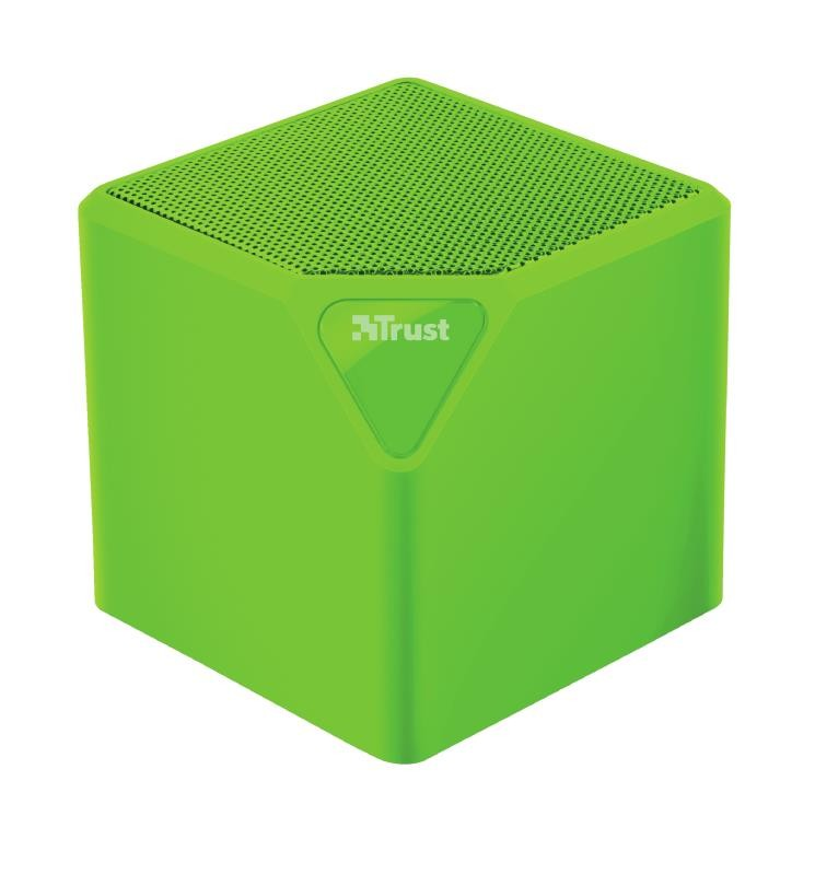 Portable Speaker|TRUST|Primo|Portable/Wireless|1xAudio-In|1xUSB 2.0|1xMicroSD Card Slot|Bluetooth|Green|22481