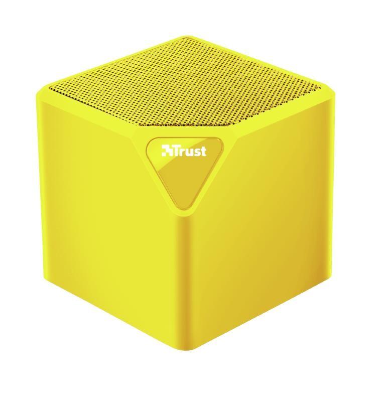 Portable Speaker TRUST Primo Portable/Wireless 1xAudio-In 1xUSB 2.0 1xMicroSD Card Slot Bluetooth Yellow 22486