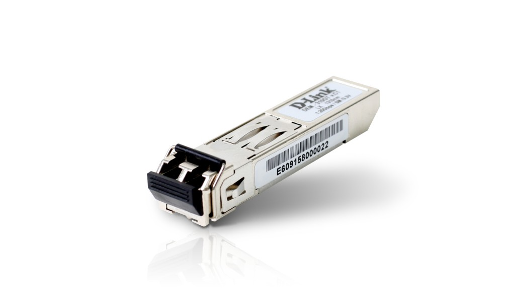 D-LINK DEM-310GT, 1-port mini-GBIC LX Single-mode Fiber Transceiver (up to 10km, support 3.3V power) D-Link