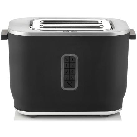 Gorenje Toaster T800ORAB Power 800 W, Number of slots 2, Housing material Plastic, Black