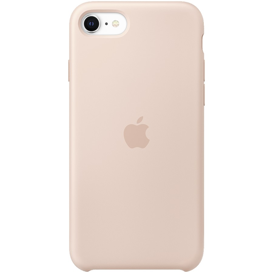 iPhone SE Silicone Case - Pink Sand