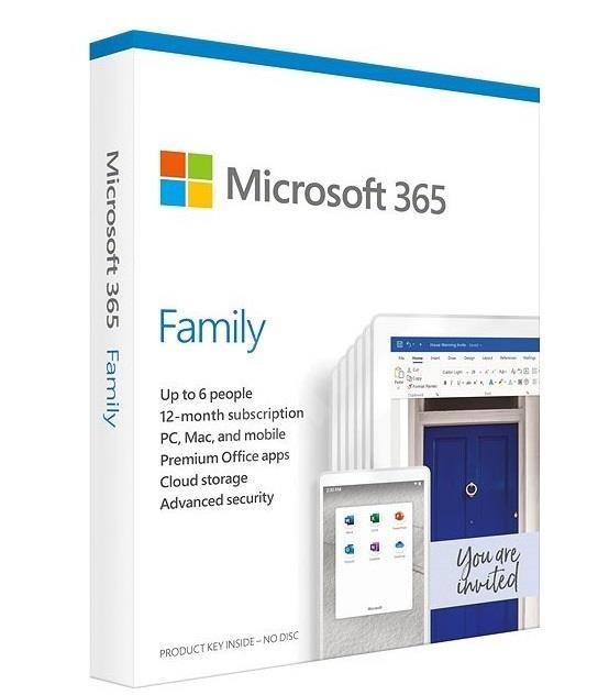 Microsoft 365 Family 1 aasta(t) Inglise keel