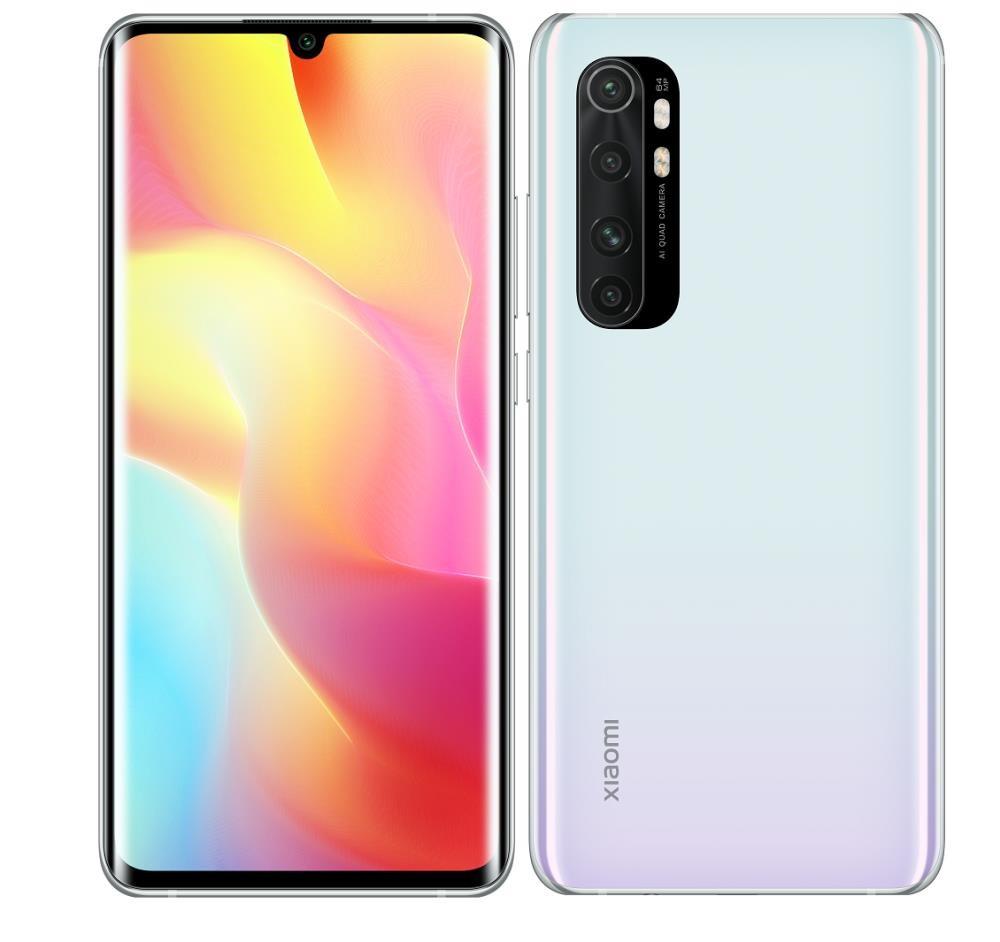 MOBILE PHONE MI NOTE 10 LITE/64GB WHITE MZB9204EU XIAOMI