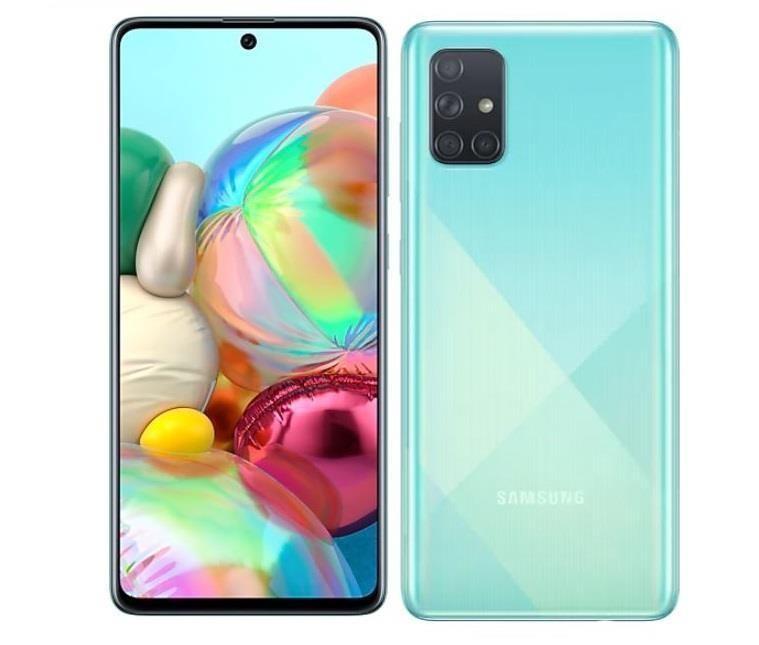 """Samsung Galaxy A71 SM-A715F 17 cm (6.7"""") 128 GB Kaksik-SIM 4G USB tüüp-C Sinine 4500 mAh"""